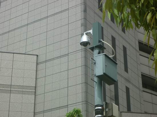 ビル監視カメラ
