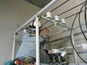 電気室 フレームパイプ工法
