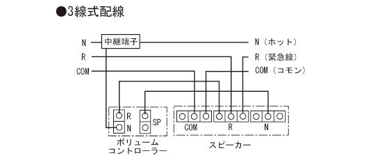 3線式配線